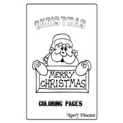 Christmas Coloring Pages (Paperback)