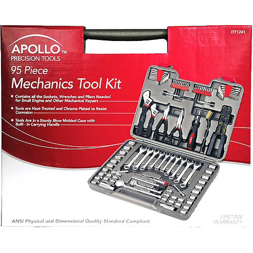 Apollo 95-Piece Mechanics Tool Set