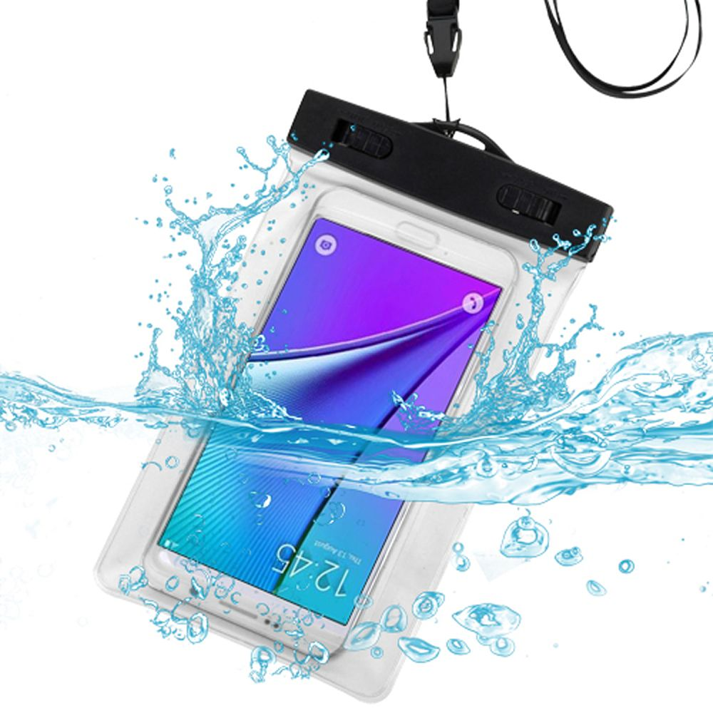 Insten Clear Waterproof Pouch Dry Bag Armband Case for Samsung Galaxy S7 Note 7 Edge Active Amp Prime J1 J7 On5 / iPhone SE 5S 5 5C / LG G5 K10 K8 K3 G Stylo 2 Stylus 2 Optimus Zone 3 V20 Universal