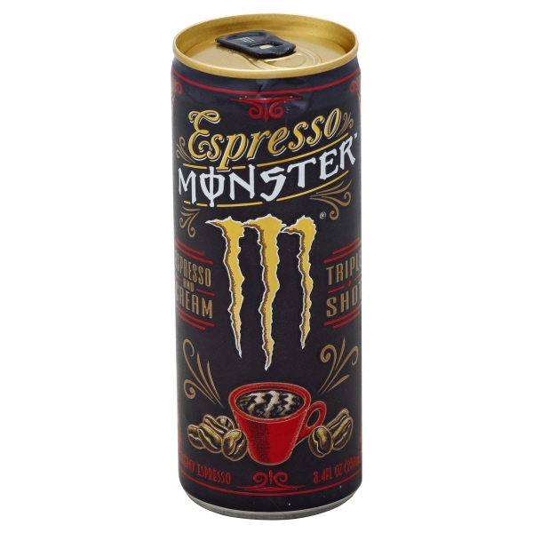 Monster Beverage Monster Espresso Energy Espresso, 8.4 oz
