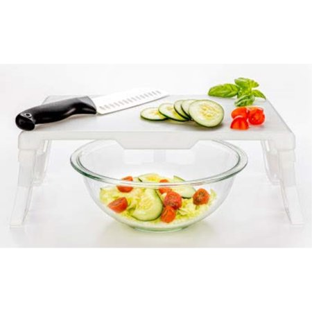 ChopAbove Cutting Board with Legs, Food Preparation Station, BPAFree