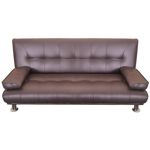 Merax Contemporary Convertible Sofa Split Back Sleeper Sofa Futon Walmart