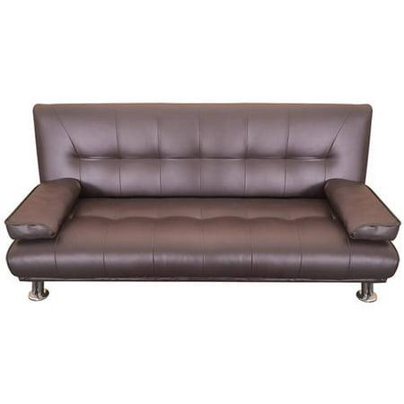 Merax Contemporary Convertible Sofa Split Back Sleeper