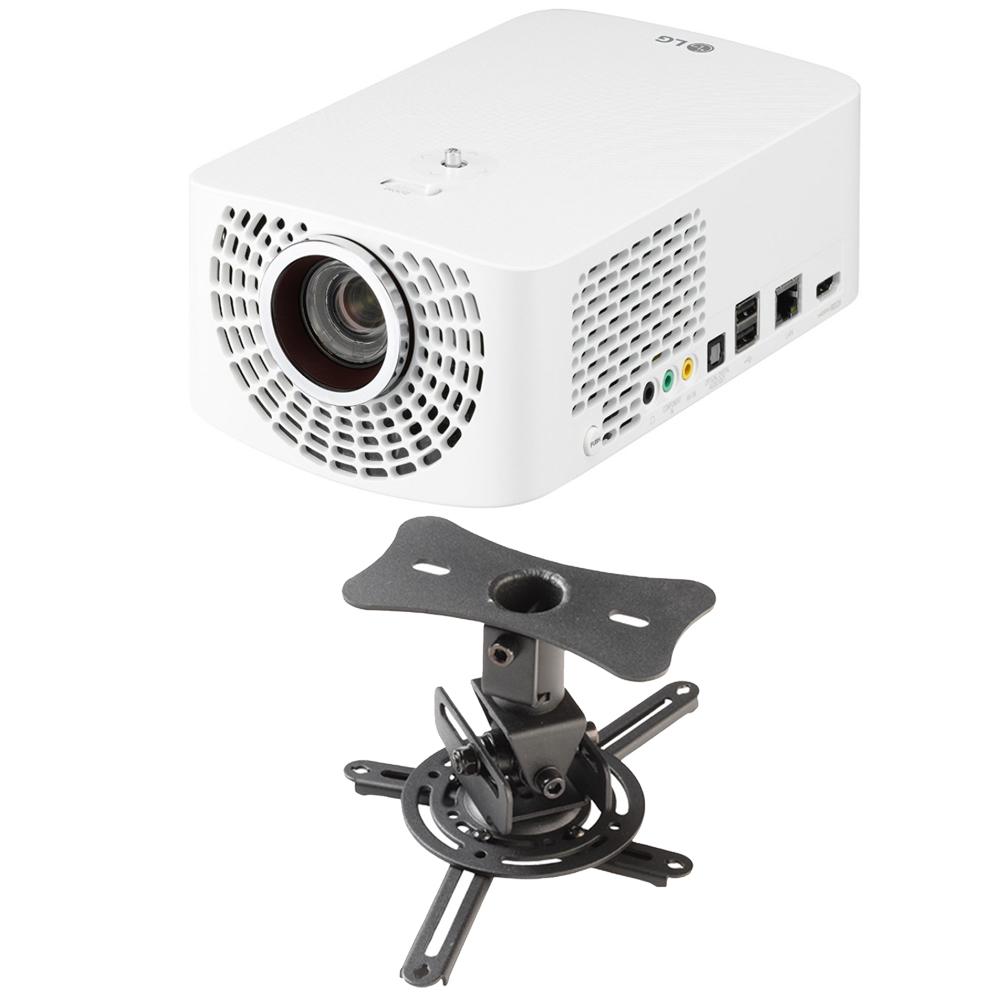 LG PF1500 Full HD Portable LED Smart TV Projector Theater...