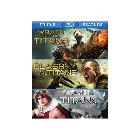 Clash of the Titans (2010) / Clash of the Titans (1981) / Wrath Of The Titans (Blu-ray) (Halloween 2 1981 Dvd Full)