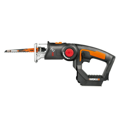 - WORX WX550L.9 20V AXIS 2-in-1 Reciprocating Saw and Jigsaw Tool Only( No Battery, No Charger Included )