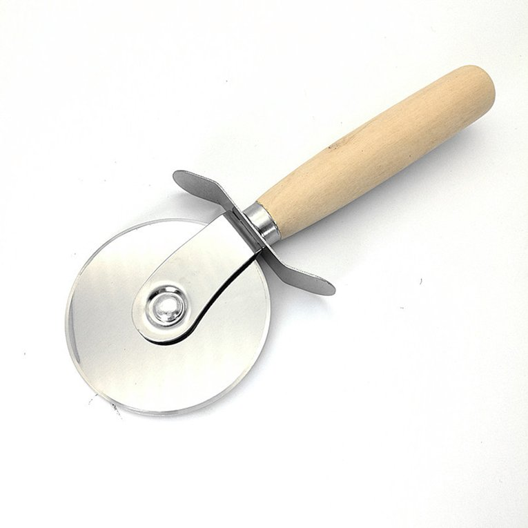 Stainless Steel Pizza Cutter Baking Pastry Kitchen Slicer Cutting Tool
