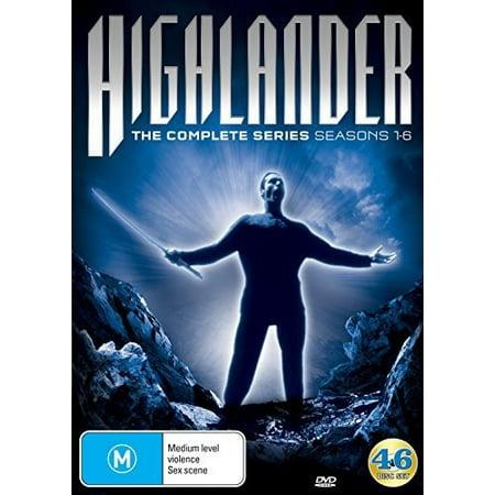 Highlander: The Complete Series: Seasons 1-6 (DVD) (Angry Birds Seasons 1-6 Halloween)