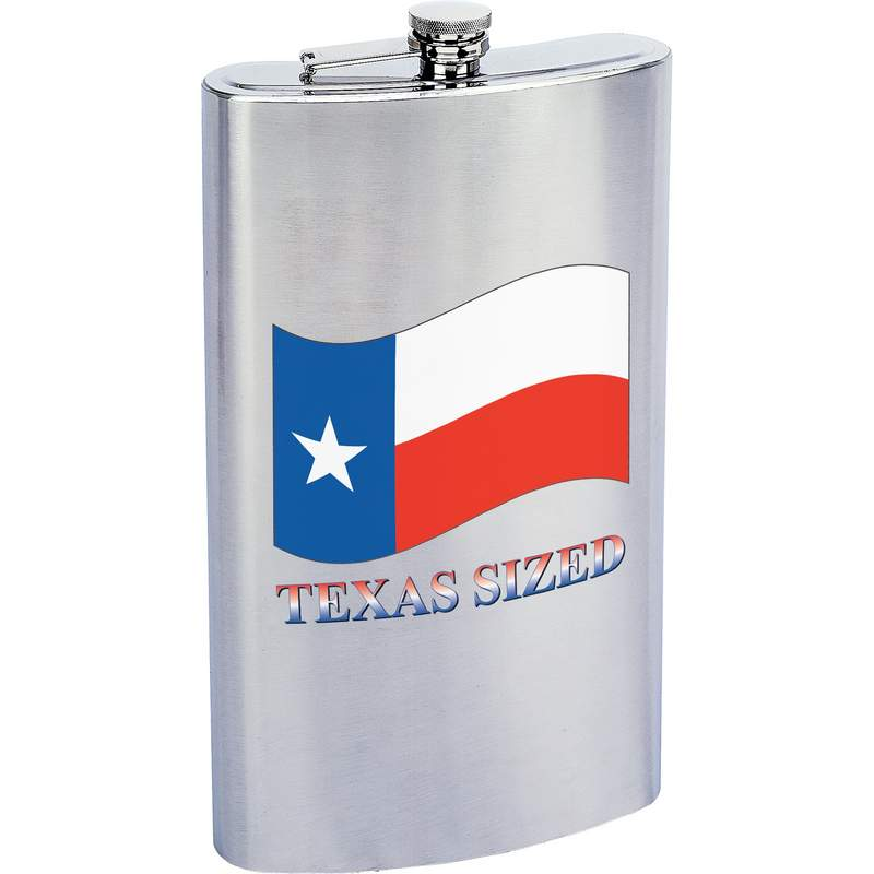 Maxam® 1 Gallon Stainless Steel Flask with TEXAS SIZED Imprint