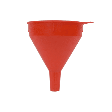 Funnel 2 Qt Safety Red W/Screen