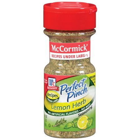 McCormick Perfect Pinch Lemon Herb Seasoning, 2.5 Oz