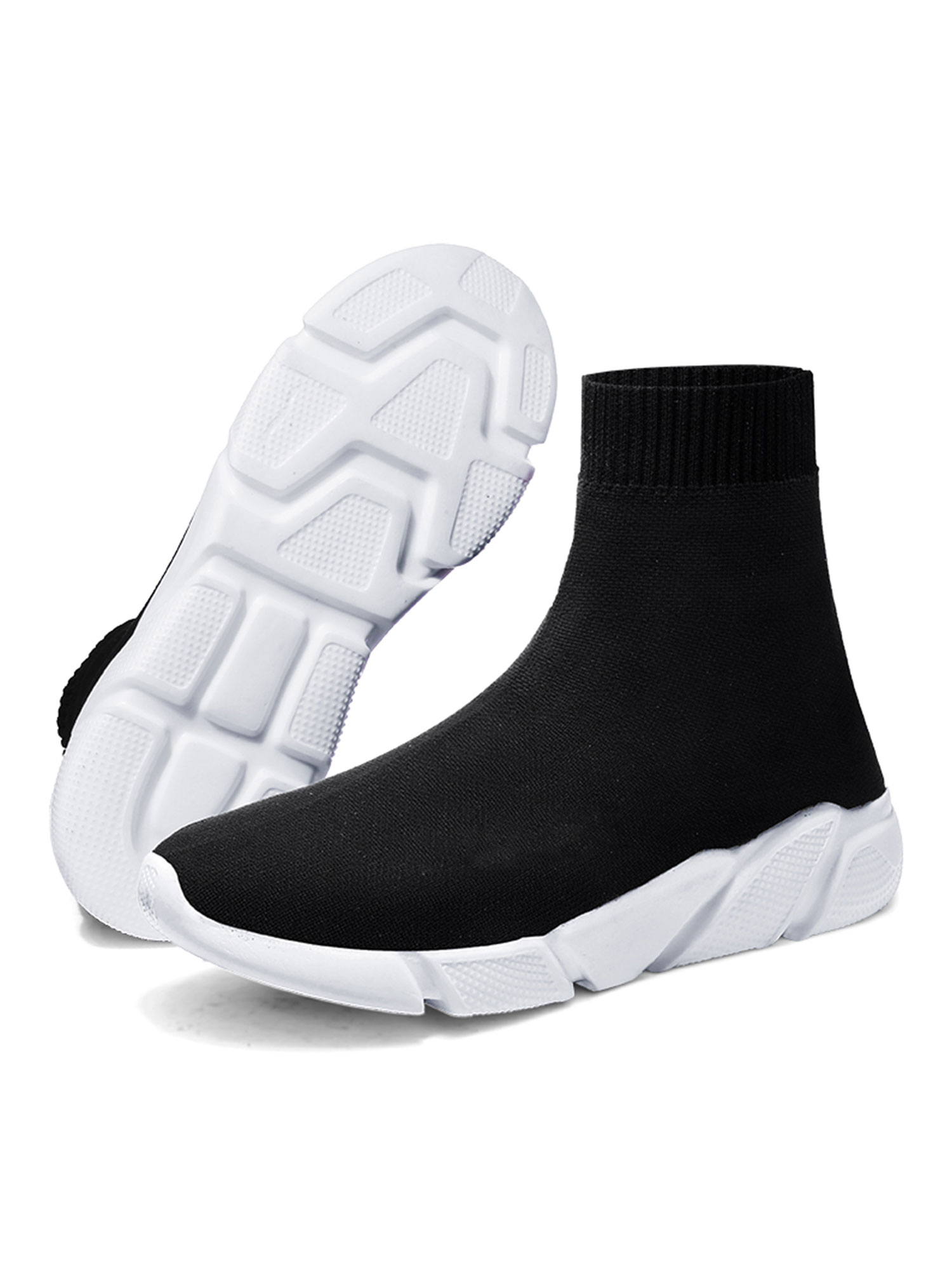 dbee3fc38750 Tanleewa - Men s Sock Shoes High Top Running Lightweight Breathable Casual  Sports Shoes Fashion Sneakers Walking Shoes - Walmart.com