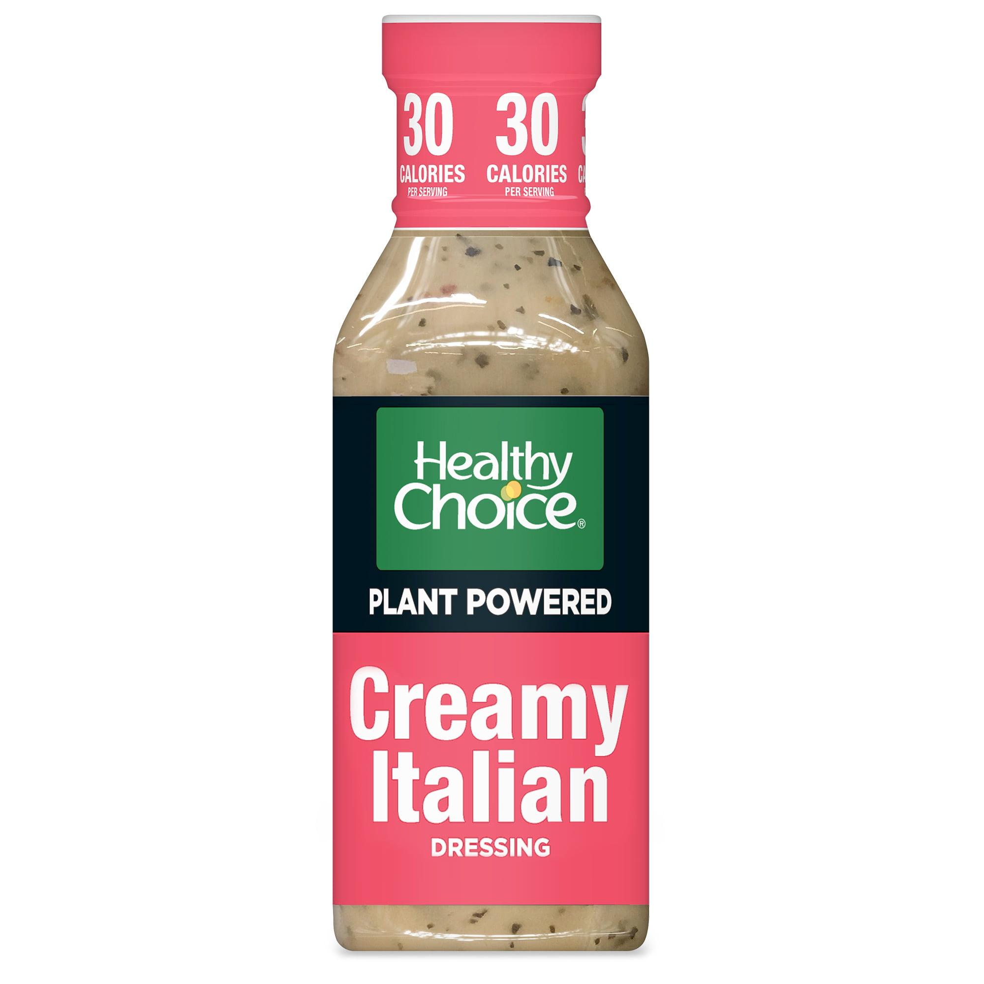 Healthy Choice Power Dressing Plant-Based Salad Dressing, Creamy Italian, 12 oz.