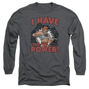 Masters Of The Universe I Have The Power Mens Long Sleeve Shirt