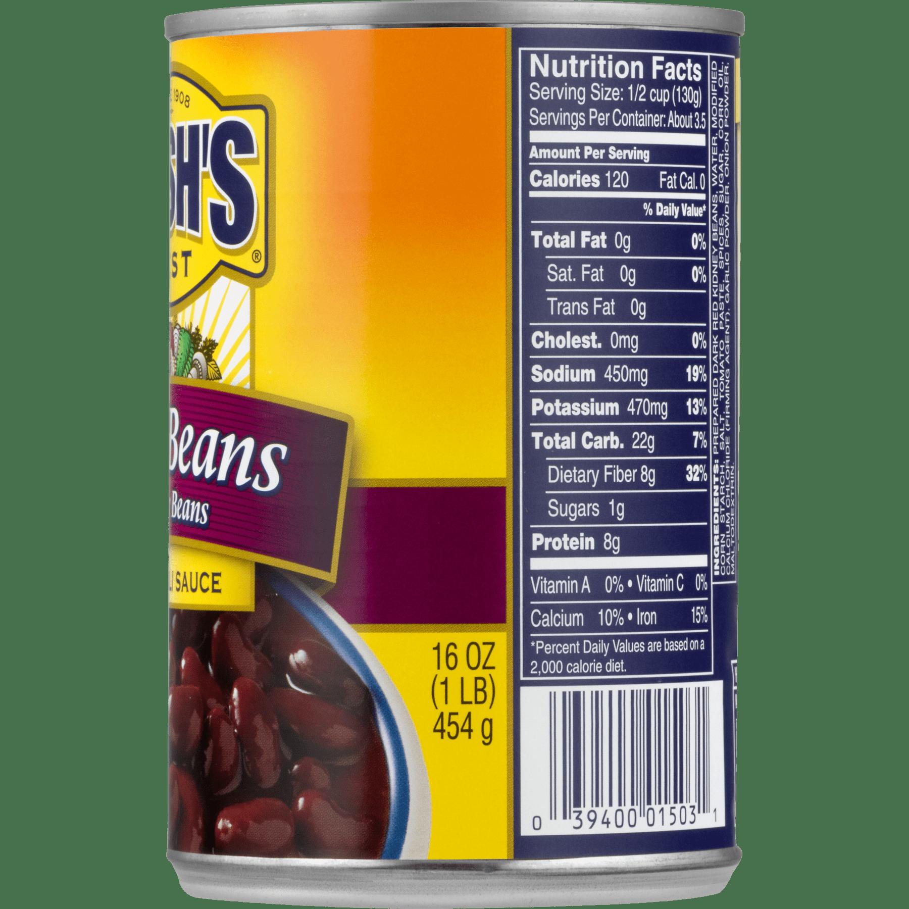 4 Pack Bush S Kidney Beans In A Mild Chili Sauce 16 Oz Walmart Com Walmart Com