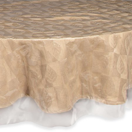Oval Tablecloth Sizes - Easy Care Super Clear Vinyl Oval Tablecloth Protector - Sewn Edges 60