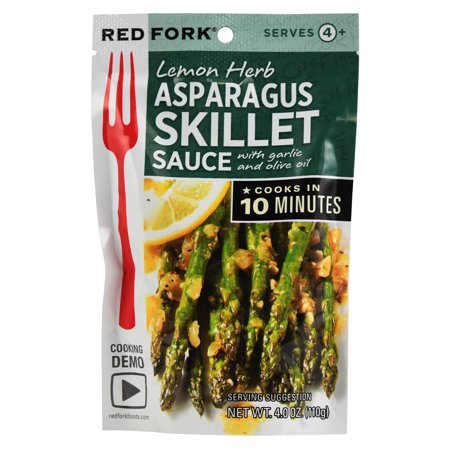 Red Fork Asparagus Seasoning Sauce, 4 Ounce