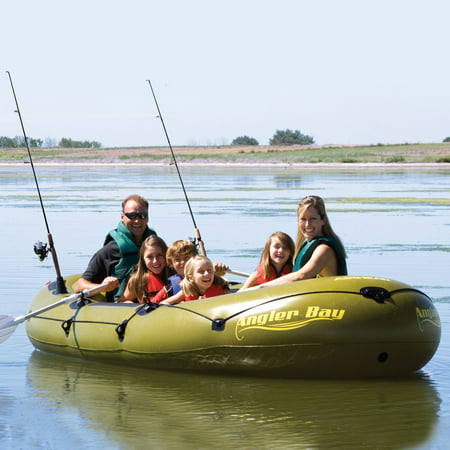 Airhead Angler Bay Inflatable (Airhead Angler Bay Inflatable Boat 6 Person)