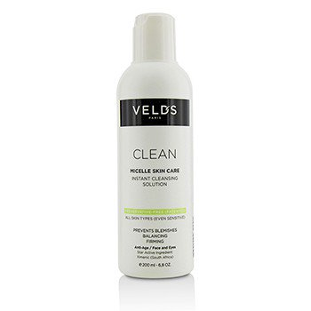 Clean Micelle Skin Care Instant Cleansing Solution   All Skin Types  Even Sensitive  6 8Oz
