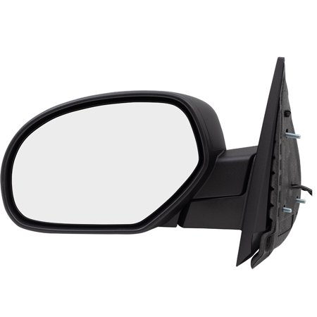 BROCK Power Side View Mirror Heated Driver Replacement for 07-13 Chevrolet Avalanche Silverado GMC Sierra Pickup Truck 20843116 GM1320325 ()