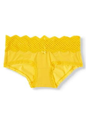 No Boundaries Micro & Lace Hipster Panties