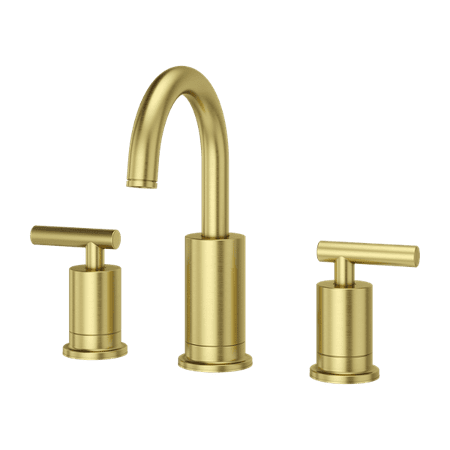 """Pfister Contempra 8"""" Widespread Bathroom Faucet in Brushed Gold"""