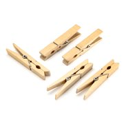 Gold Colored Clothespins: 2.875 inches, 48 pieces