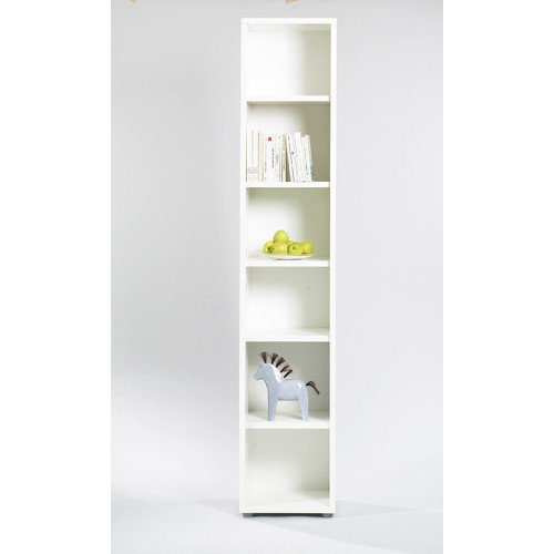 Tvilum Fairfax Tall Narrow Bookcase in White