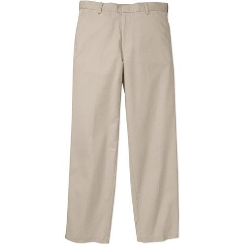 George Men's Flat Front Pants
