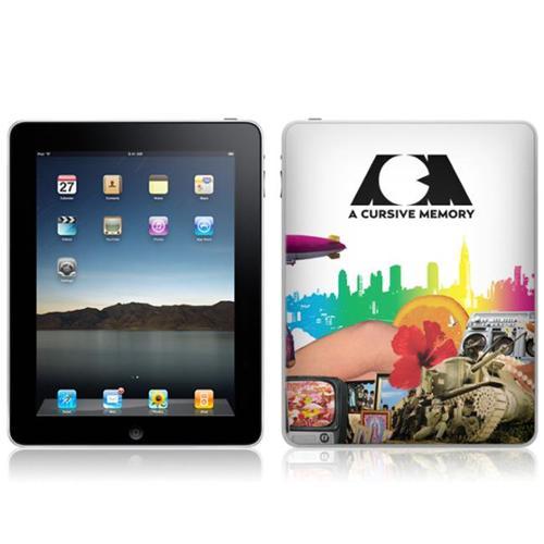 Zing Revolution MS-ACM10051 iPad- Wi-Fi-Wi-Fi + 3G- A Cursive Memory- Changes Skin