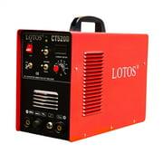 Lotos 50 Amp Plasma Cutter 200 Amp TIG Welder-Stick Welder CT520D