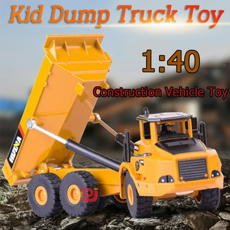 Toy Cars for Kids, Dump Truck Cars Toys for 8 Year Old Boys Children 1:40 Alloy Truck Model Toys Construction Vehicles Christmas Birthday Best Gift for (Best Toys For 6 Year Olds 2019)