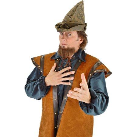 Morris costumes ELA3404 Hat Robin Hood Moss Green](Robin Hats)