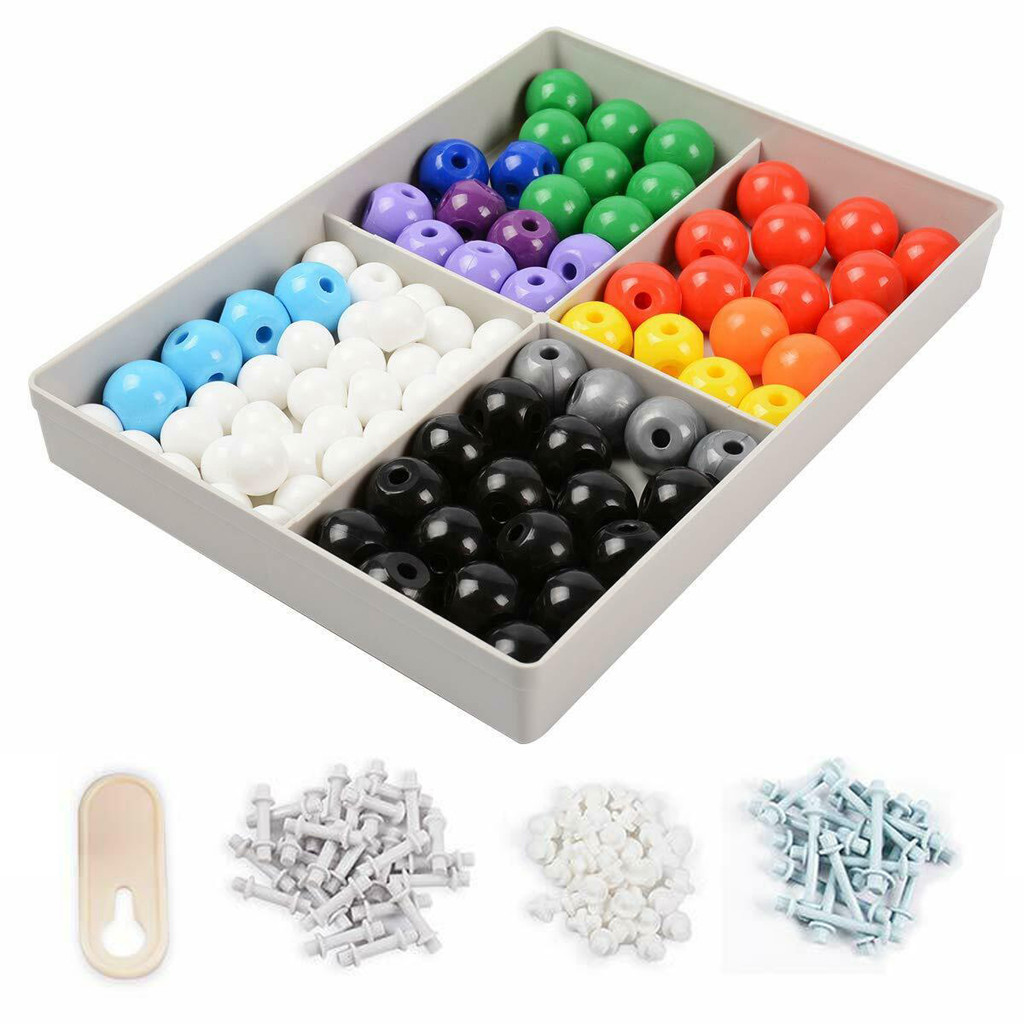Molecular Model Atoms Bonds 239 Pieces Organic Chemistry Colorful Model Kit