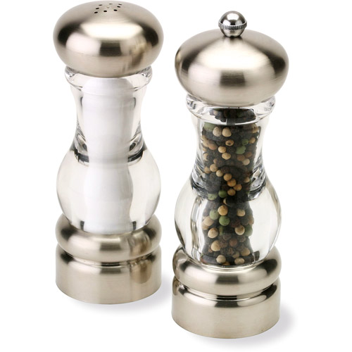 "Olde Thompson 7"" Del Norte Salt and Peppermill Set"