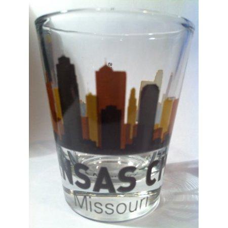Kansas City Missouri Sunset Skyline Shot Glass - Halloween Costumes Kansas City Missouri