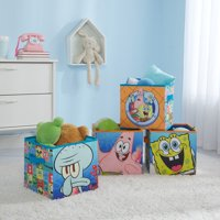 Nickelodeon Spongebob Toy Storage cubes (set of 4)