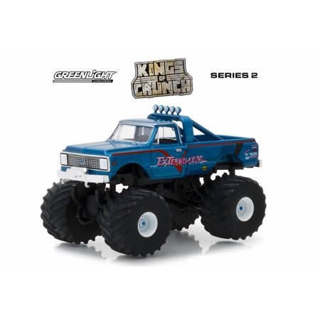 1972 Chevy K-10 Monster Truck, ExTerminator - Greenlight 49020D/48 - 1/64 Scale Diecast Model Toy Car (Monster Truck Toys)