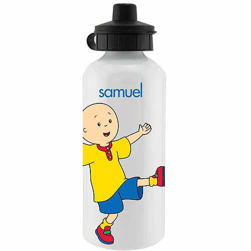 Personalized Caillou Let's Play Sports Water Bottle - 20 oz