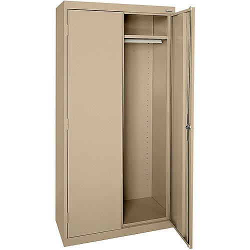 "Elite Series Wardrobe Cabinet with Adjustable Shelf, 46""W x 24""D x 72""H, Tropic Sand"