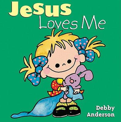 Jesus Loves Me (Board Book)