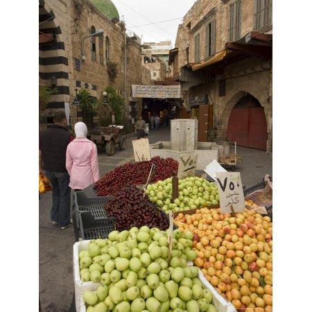 Fruit Seller, Tripoli, Lebanon, Middle East Print Wall Art By Christian