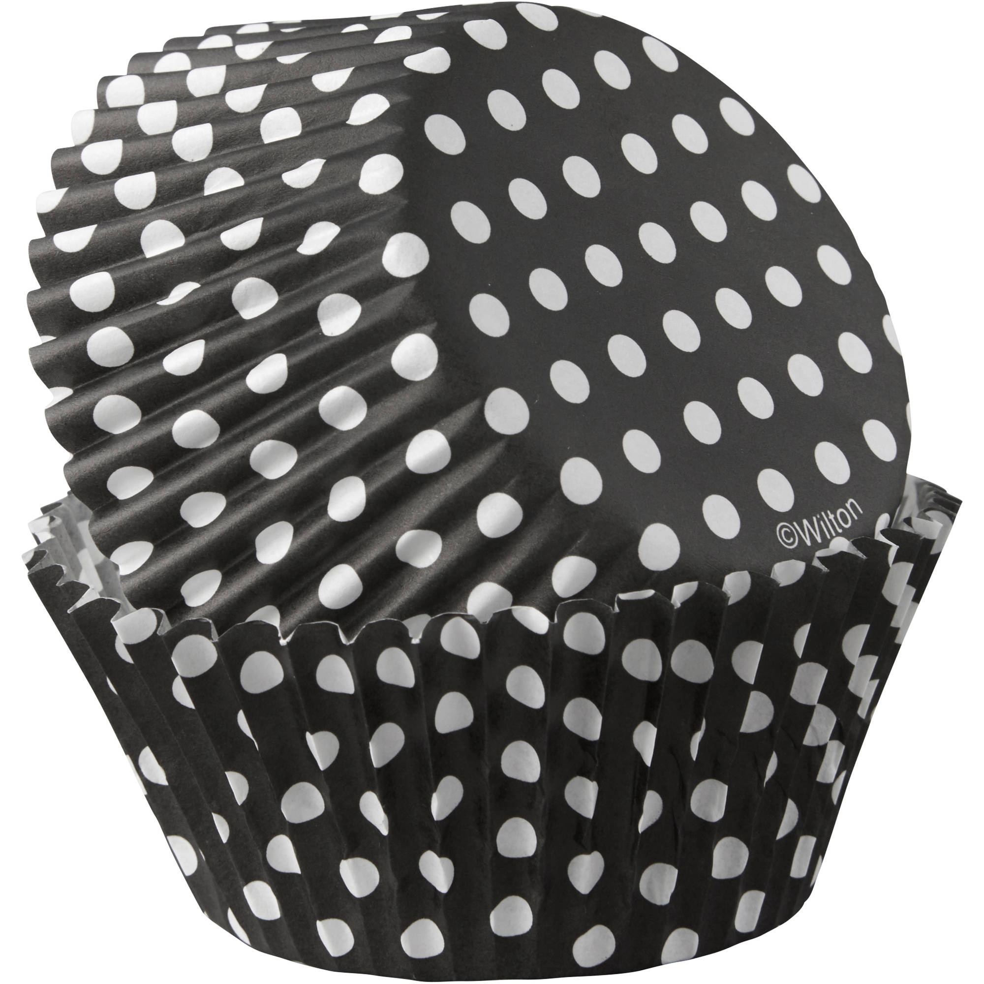Wilton Standard Black Dots Baking Cups, 415-7023 415-7023