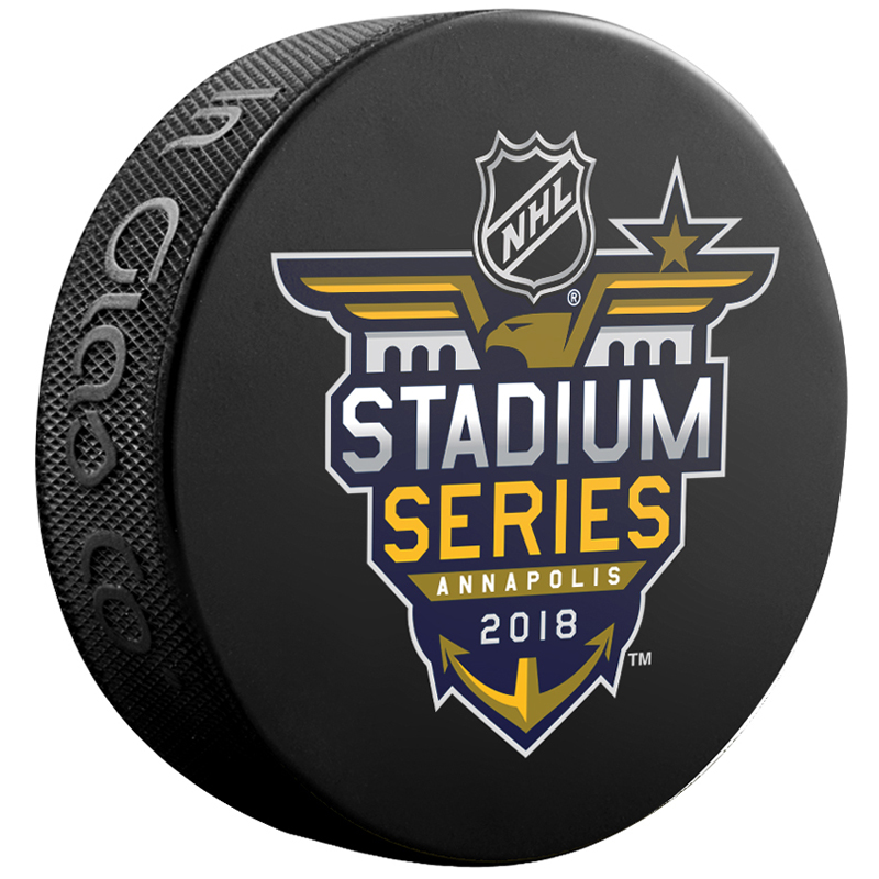 NHL-Logo Sher-Wood Generic Dueling Souvenir Hockey Puck - No Size
