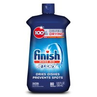 Finish Jet Dry Rinse Aid, Dishwasher Rinse Agent and Drying Agent, 8.45 Oz