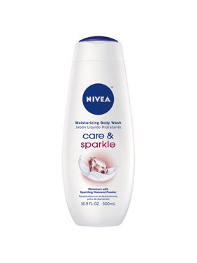 NIVEA Care and Sparkle Moisturizing Body Wash 16.9 fl. oz.