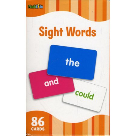 Sight Words (Flash Kids Flash Cards) - Halloween Activities For Children's Church