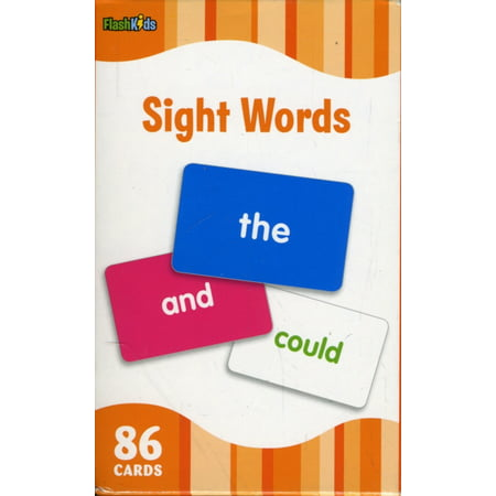 Sight Words (Flash Kids Flash Cards) (Best Pharmacology Flash Cards Step 1)