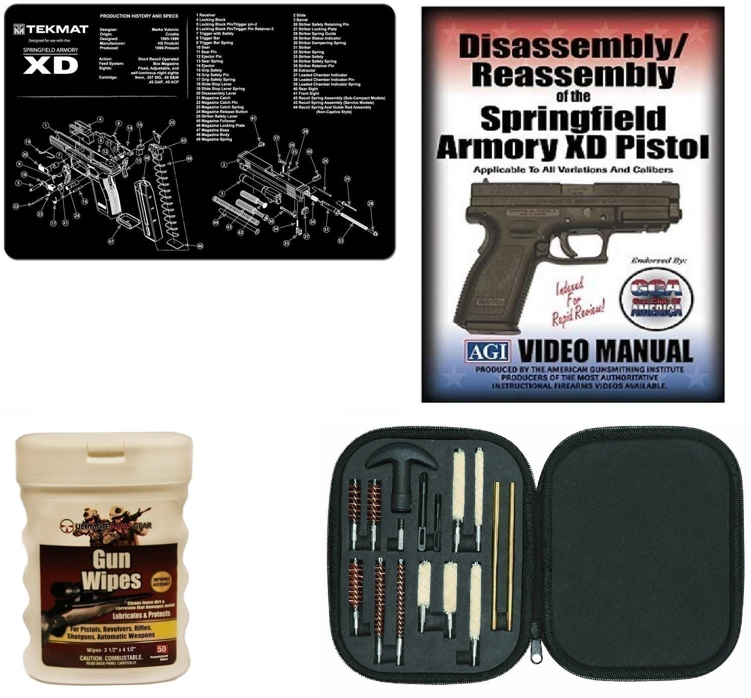 Cleaning Kit for Full Arms Gun Armory Gun Rifle All Calibers
