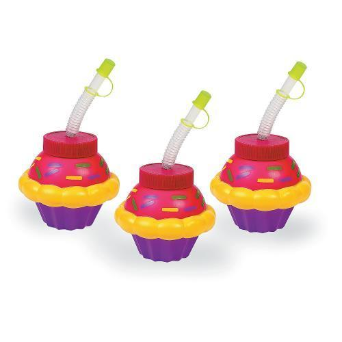 Oriental Trading IN-70/8086 Happy Birthday Cupcake Cups w...